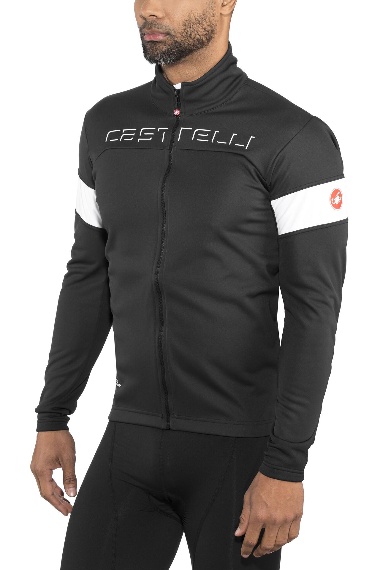 Homme Transition Blancnoir Veste De Vélos Boutique Castelli qn04Ffxwzx